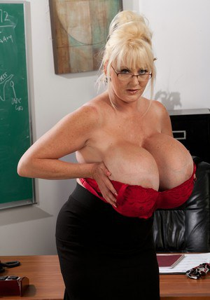 teachers with big boobs
