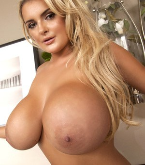 Big tit blonde naked