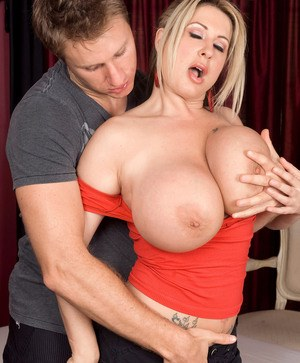 Huge Boobs Seduction Pics